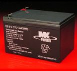 MK AGM Mobility Scooter Battery ES12-12ah